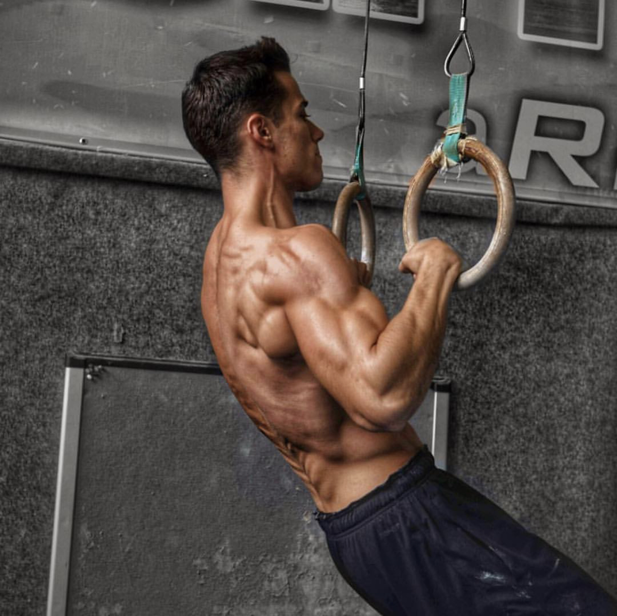 Rings Muscle up tutorial