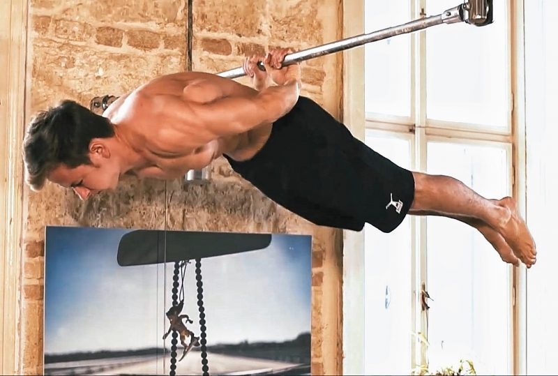 Back lever pull-ups tutorial